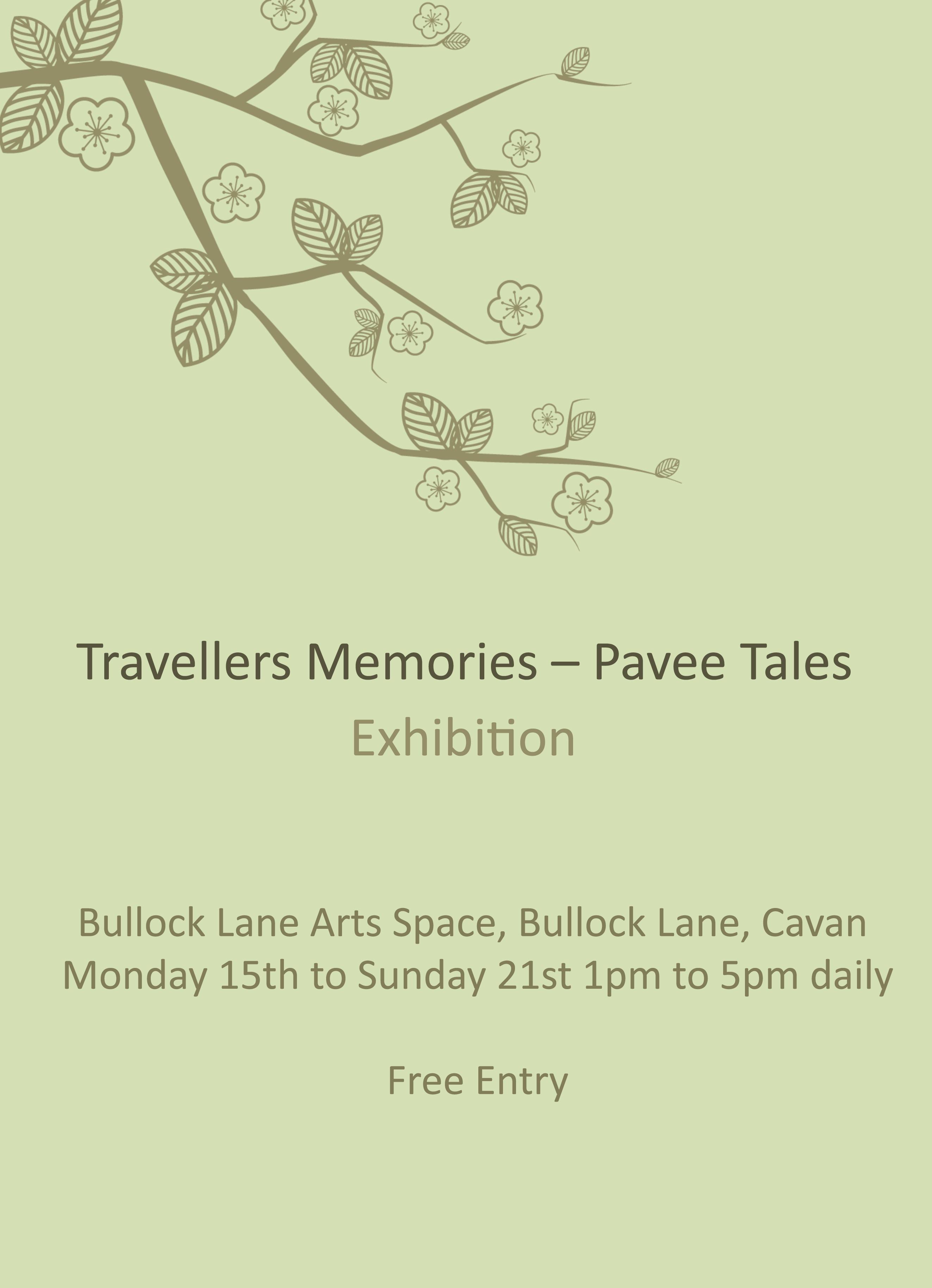 travellers memories poster