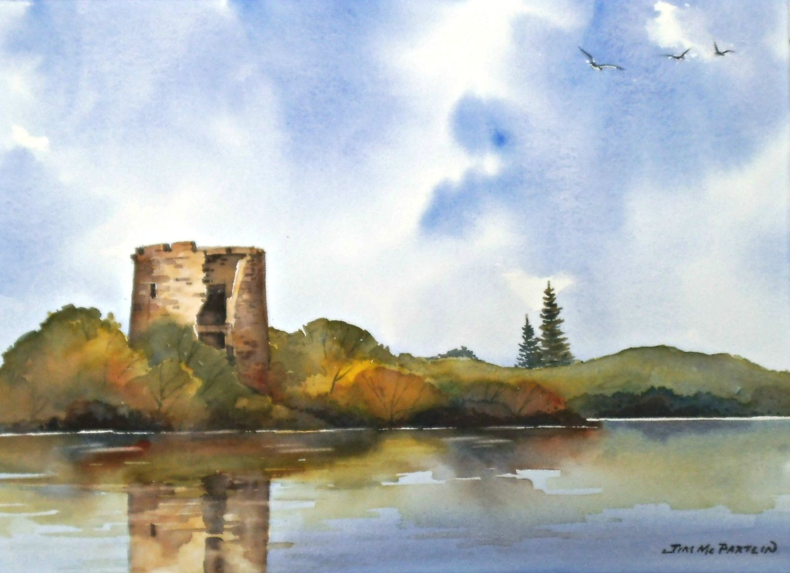 Clogh Oughter Castle