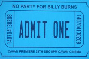 No Party for Billy Burns - Two Additional Dates