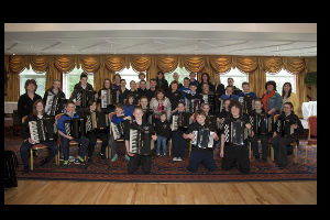 Castletown Accordion Orchestra Mid-Summer Classical Concert.