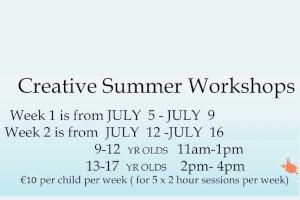 Creative Summer Workshops