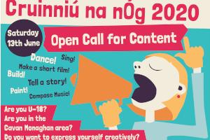 Call for Content - Cruinniú na nÓg 2020