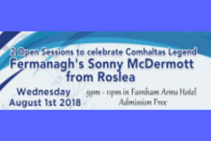 2 Open Sessions to Celebrate Comhaltas Legend