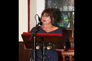 Threads poetry launch by Kate Ennals