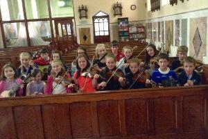 Cavan Town Comhaltas Recital at St Clare's Chapel