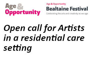 Call for Artists - Artist Residency in a Care Setting