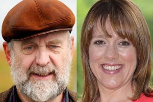 Michael Harding & Evelyn O'Rourke