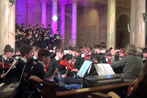 The Music of Snow by Noel Monahan and Ciarán Tackney, St Patricks College Cavan