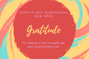CALL FOR WRITERS Scripts 2019