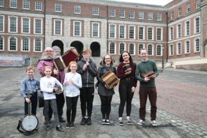 NYAH Comhaltas Cavan perform at TradFest Temple Bar Dublin 2018