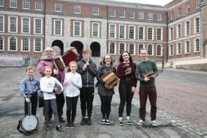 NYAH Comhaltas Cavan perform at TradFest Temple Bar Dublin 2018