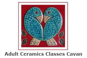 Marie Smith Ceramic Class at Bridge St Centre, Cavan