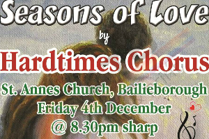 Seasons of Love by Hardtimes Chorus