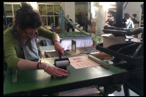 Developing Creative Practice Across Borders Print Museum
