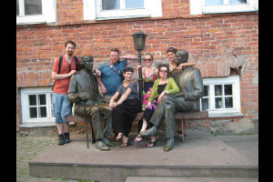 Artists return from placements in Estonia